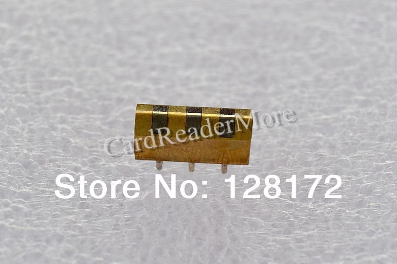 4.5*4.5*11.8mm 3 Tracks Magnetic Stripe Card Reader Head(China (Mainland))