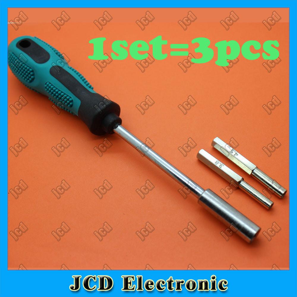 Screwdriver + 4.5MM & 3.8MM Screw Bits for Gamecube Nintendo NGC Repair Tools Set 10sets=30pcs