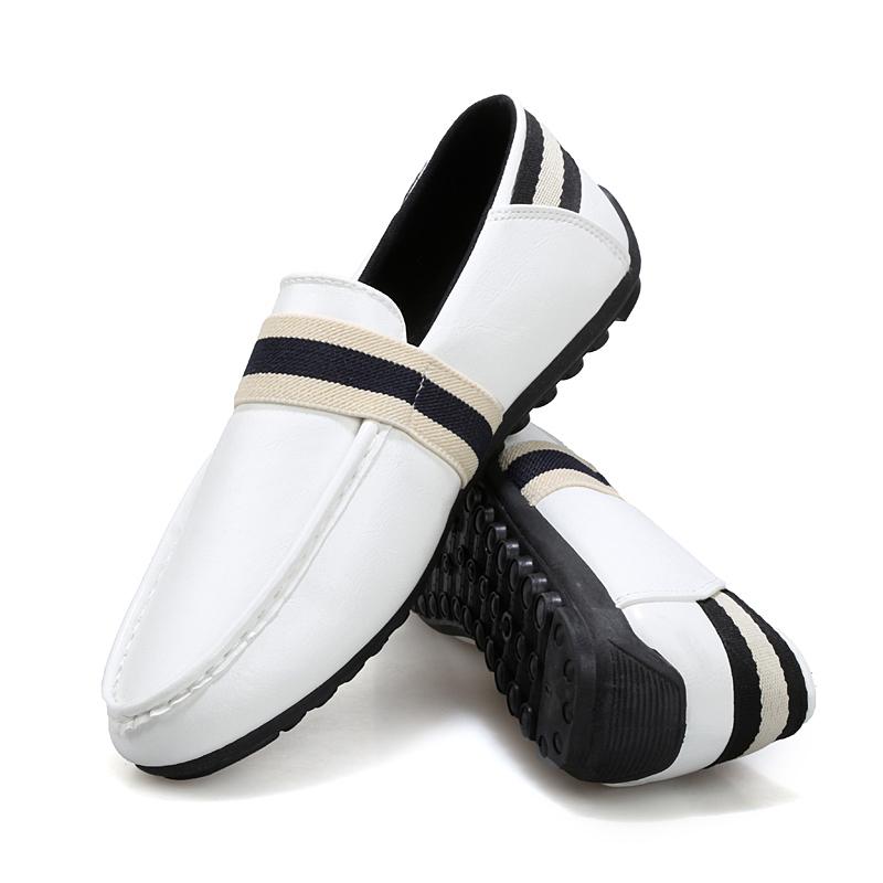 2015 new tide Peas shoes men Korean wave pedal lazy men's casual shoes, loafers - Edelman store