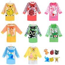 Student Raincoat Baby Children Cartoon Kids Girls boys rainproof Rain Coat Waterproof Poncho Rainwear Waterproof Rainsuit RX001(China (Mainland))