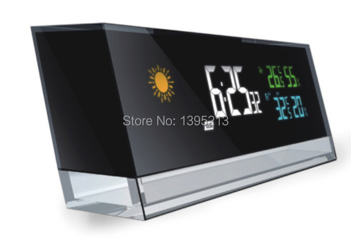 2014 Digital Wireless Weather Station Temperature Humidity Remote Sensor Controlled Clock alarm, snooze function /Lot - Shenzhen Changshi Technology Co.,Ltd store