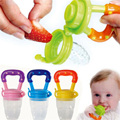 New Soft Safety Silicone Infant Nipple Baby Food Chew Pacifier Soothers Silica Gel Fruits Vegetables Toothbrush