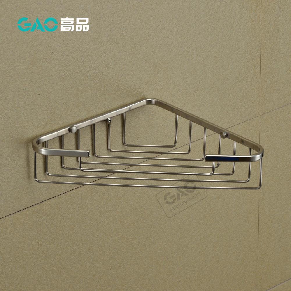 Free Shipping Bathroom Accessories Bathroom Shower Racks Triangular Basket Shower Caddy Shelves