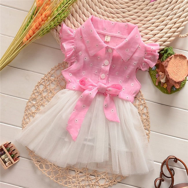 Adorable Princess Baby Toddler Girls Summer Tutu Bow Lace Tulle Party Dress<br><br>Aliexpress