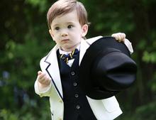 Lovely boy traje para el muchacho de la flor de la boda traje de niño los niños de desgaste formal del partido pública(China (Mainland))