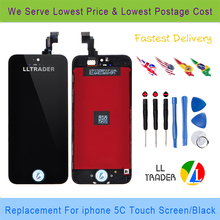 Black Retina High Screen Lcd Display For iPhone