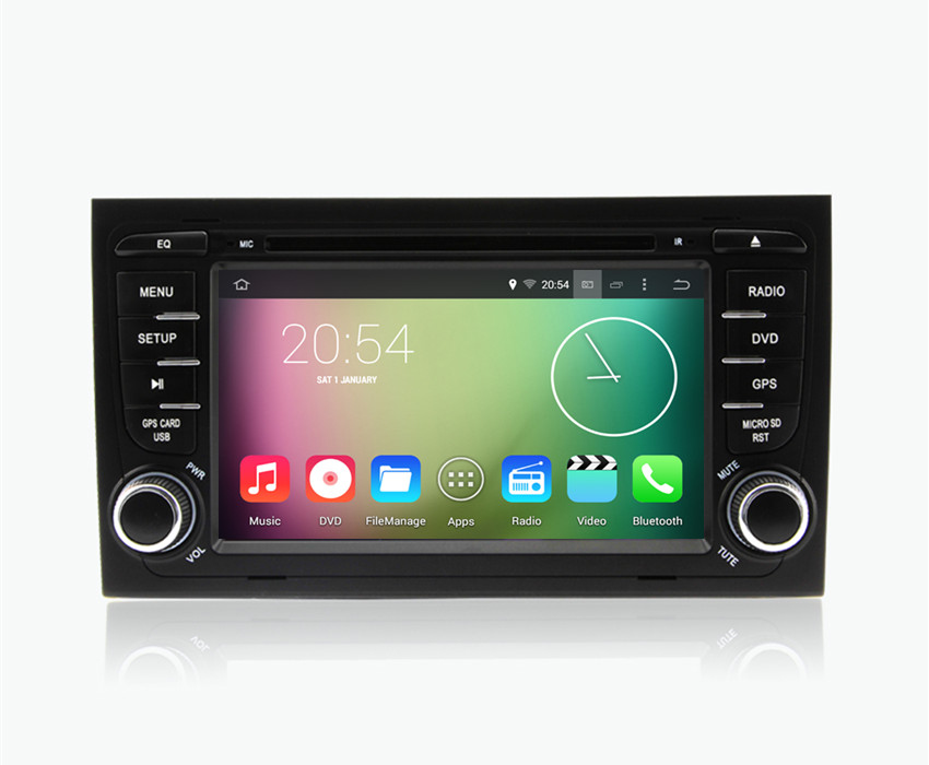 Android 4.4.4 HD 1024*600 Quad core 1.6GHz Nand Flash 16GB Car DVD Player For Audi A4 S4 RS4 2002 2003 2004 2005 2006 2007 2008(China (Mainland))