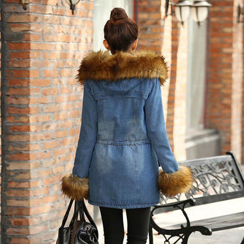 jean jacket lined Picture - More Detailed Picture about New Winter ...