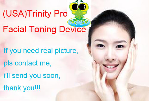 1Pc Micro-current Trinity Pro Electronic Facial Trainer Kit Slimming Face Lifting Machine Facial Toning Device Anti-Aging<br><br>Aliexpress