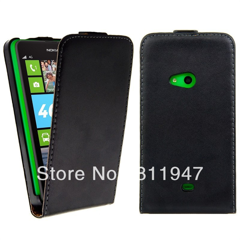 For Nokia Lumia 625 Case Cover Leather Wallet Vertical Flip Pure Mobile Protective Shell Phone Bag Accessory for Nokia 625 Case(China (Mainland))