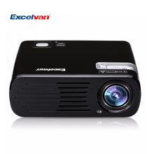 Excelvan BL23 Pro LCD LED Projector 2600 Lumens Bluetooth+ WiFi+ Android 4.4.2 ROM RAM 1G+8G Home theater 3D Proyectors Beamer(China (Mainland))
