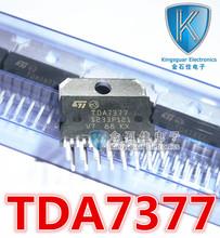 Hot spot 5pcs/lot TDA7377 CD7377CZ YD7377 ZIP-15 audio amplifier chip new original in stock(China (Mainland))