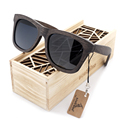 Premium Natural Frames Original Wooden Casual Polarized Lens Sunglasses Men and Women With Gift Box