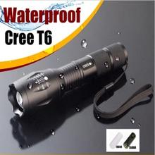 Led Flashlight CREE-xml T6 Led High Quality 18650 Waterproof Flashlight Strong Light E17 Cree XML T6 Tactical Torch Lantern 103c(China (Mainland))