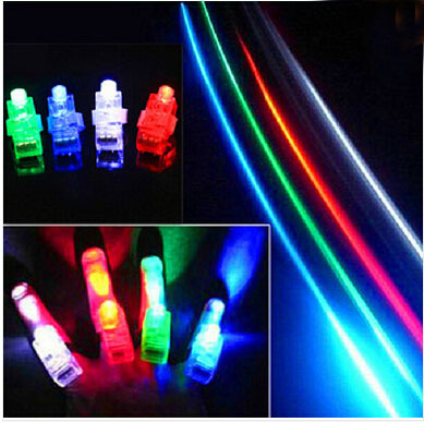 best selling 2015 new 500pcs/lot LED Light flash laser finger mini glow beams ring torch lamp for party(China (Mainland))