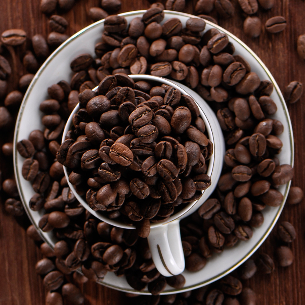 Free shipping 50g High-quality Vietnam Coffee Beans Baking charcoal roasted Original green food slimming coffee lose weight tea
