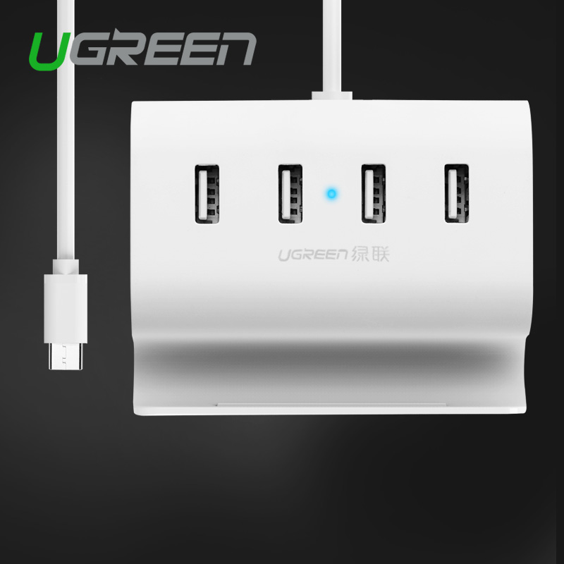 Ugreen USB Type C 4 Ports High Speed HUB with 0.5 m Cable USB-C to Splitter for Pro Phone Macbook Keyboard HD Mouse(China (Mainland))