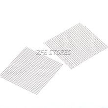 New 1Pc Stainless steel Wire Mesh Pad 2.0*2.0inch  For Moss Live Plants(China (Mainland))