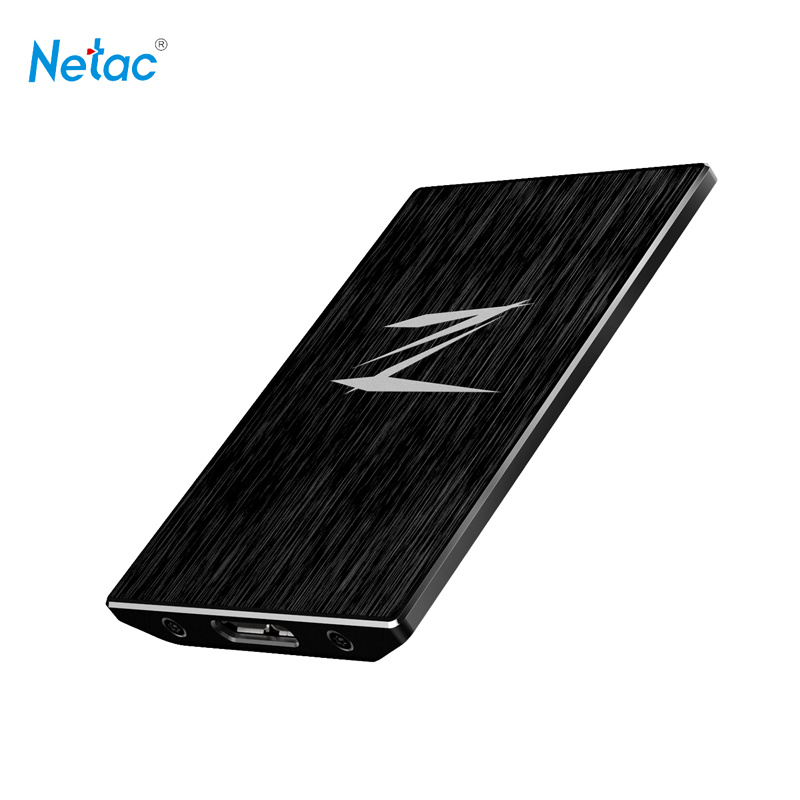 Netac Z1 USB3.0 External SSD 128GB 256GB Super Speed Mini
