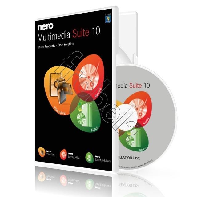 Nero Multimedia Suite - burning software Suite 10 Platinum English version for win<br><br>Aliexpress
