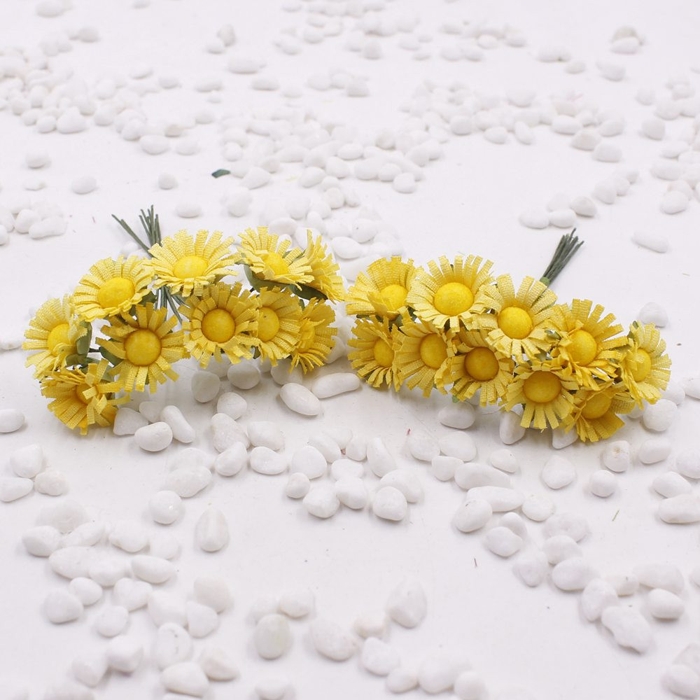 Artificial Flowers Fake Flowers Simulation Small Daisy Flower