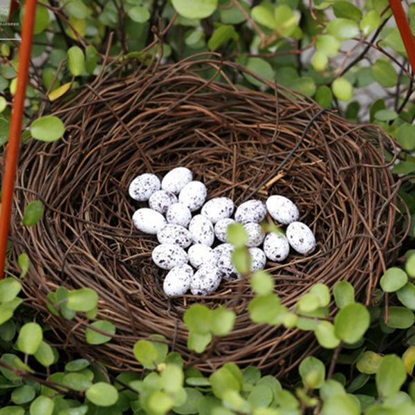 6cm nest 15 eggs happy nest landscape decoration craft for The nest home decor