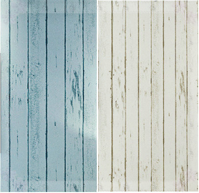 Home decor blue white wood panel non woven wallpaper roll natural rustic scrapwood woodboard - Woven wood wall panels ...