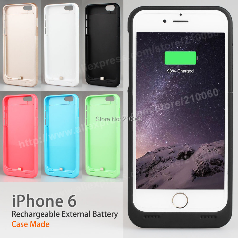 3500mAh iphone 6 4.7 inchBackup Power bank External Charger Cover Battery Case - UFavors store