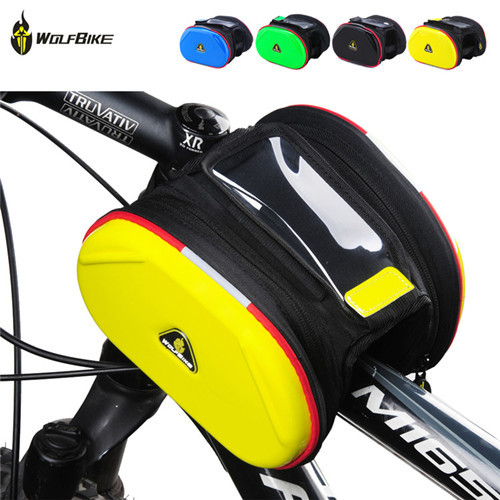WOLFBIKE Bike Phone Bag 4 colors Men Women Sports Cycling ...