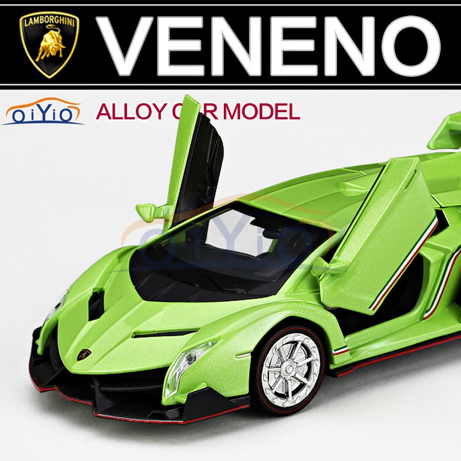 2015 New Alloy Diecast Lamborghini Poison 1:32 Car Model Collection for Kids Toy Vehicles without Battery VB32143(China (Mainland))