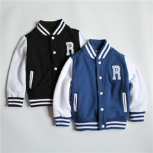 2015 New arrived Spring/autumn baby boy jackets Kids Clothes Children outerwear Babi Boys baseball Suit Outerwear & Coats(China (Mainland))