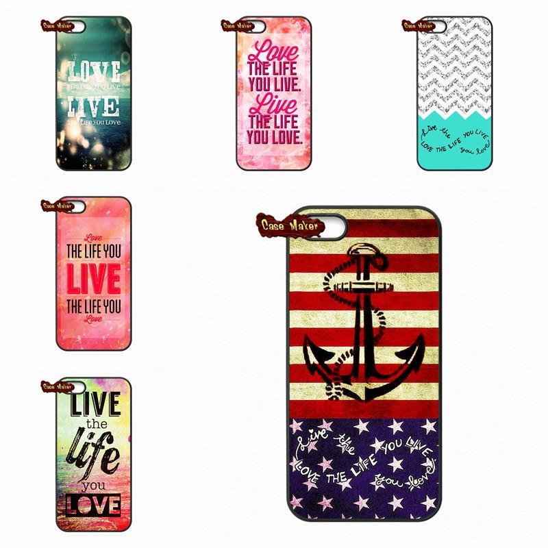 For Xiaomi Mi3 Mi4 Mi5 Redmi Note 2 3 Ocean Live the Life You Love Inspirational Case Cover For HTC ONE S X Xiaomi M3 M4 M5(China (Mainland))