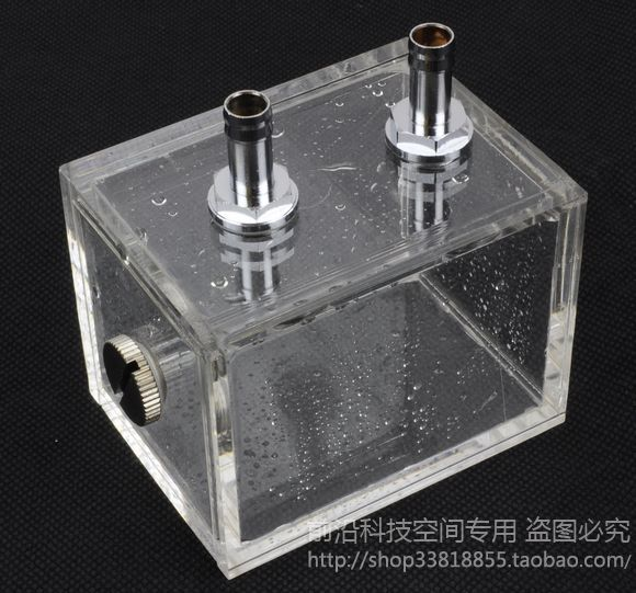NEW ARRIVAL 200ml Acrylic Water Tank Cooler Water Cooling Radiator Computer CPU Water Block(China (Mainland))