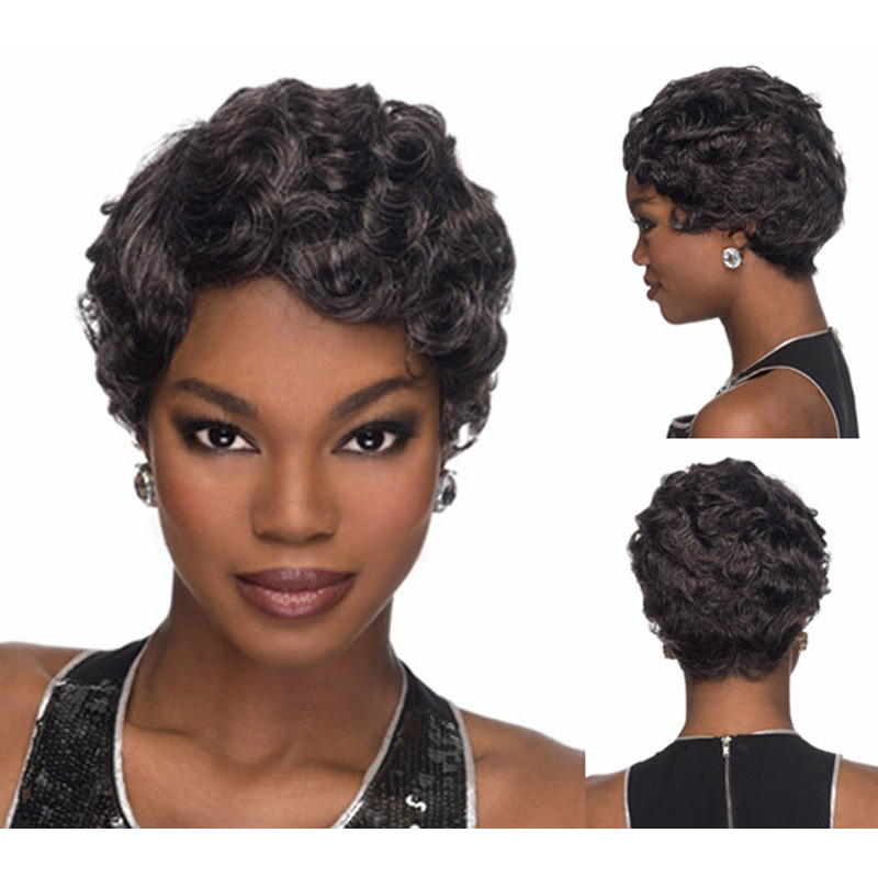 Pixie Cut Curly Hair With Bangs With Bangs Afro Pixie Cut