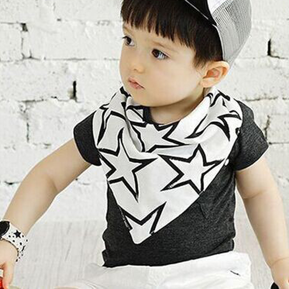 Clearance baby girl scarf O ring child neck scarves Spring autumn kids boys bib Star pattern children collars Surprise gift(China (Mainland))