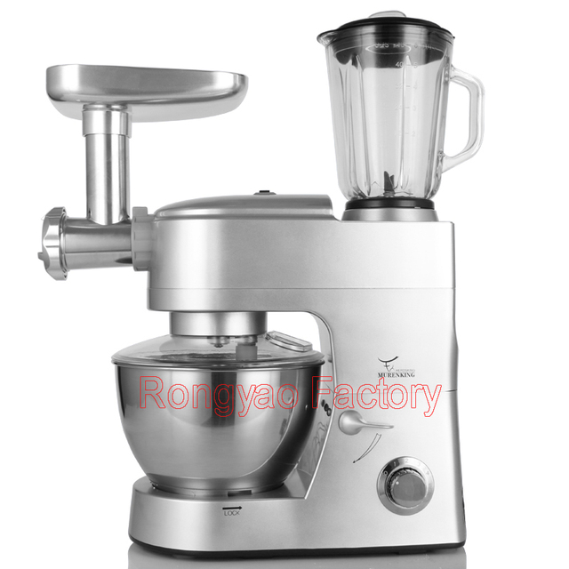 3 FUNCTION Flour Dough Blender Mixer Meat Cutter Grinder Efficiency Ice Shavers SM-168BG