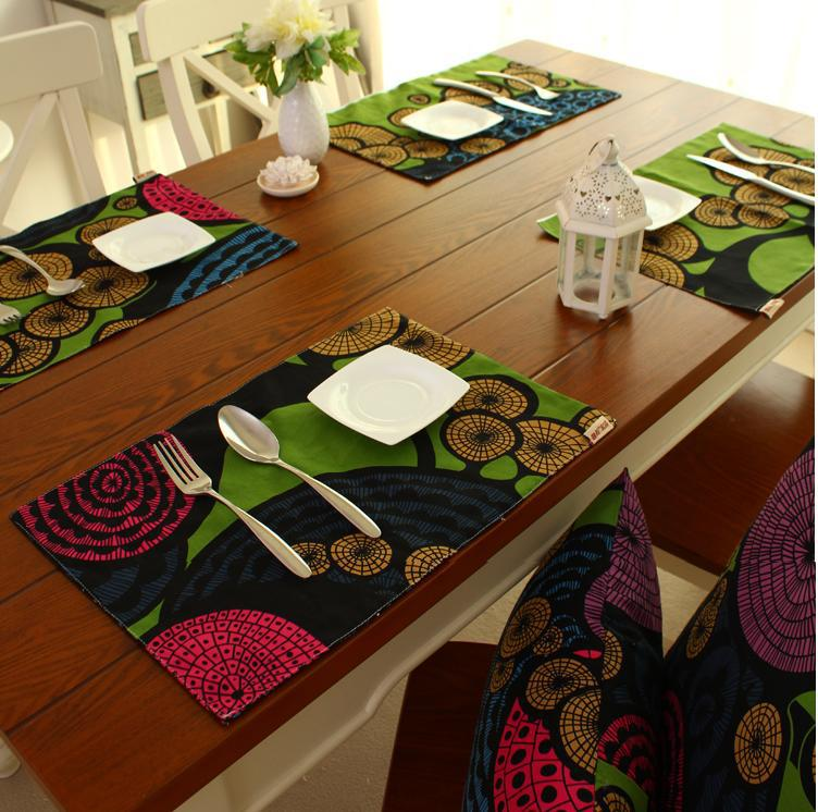 100 cotton multi color dining table mat placemat Ikea  : 100 cotton multi color dining table mat placemat Ikea style high quality from www.aliexpress.com size 752 x 746 jpeg 91kB