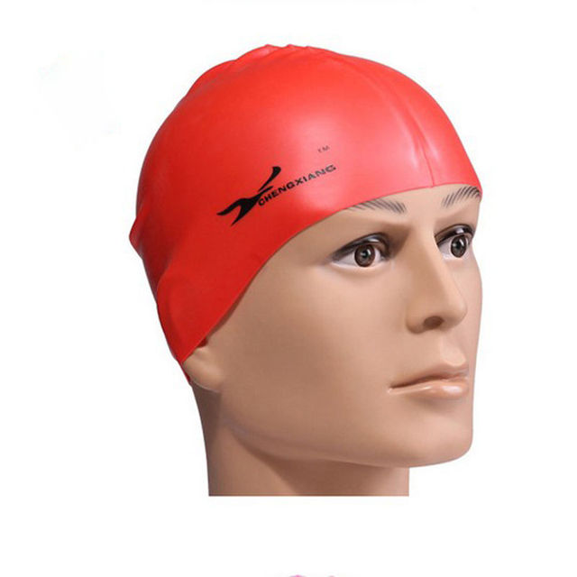 Flexible Sporty Latex Swimming Cap