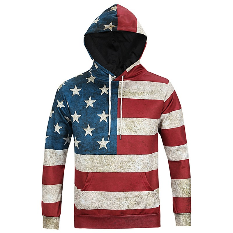 Men's Full-Zip Hooded Fleece Sweatshirt