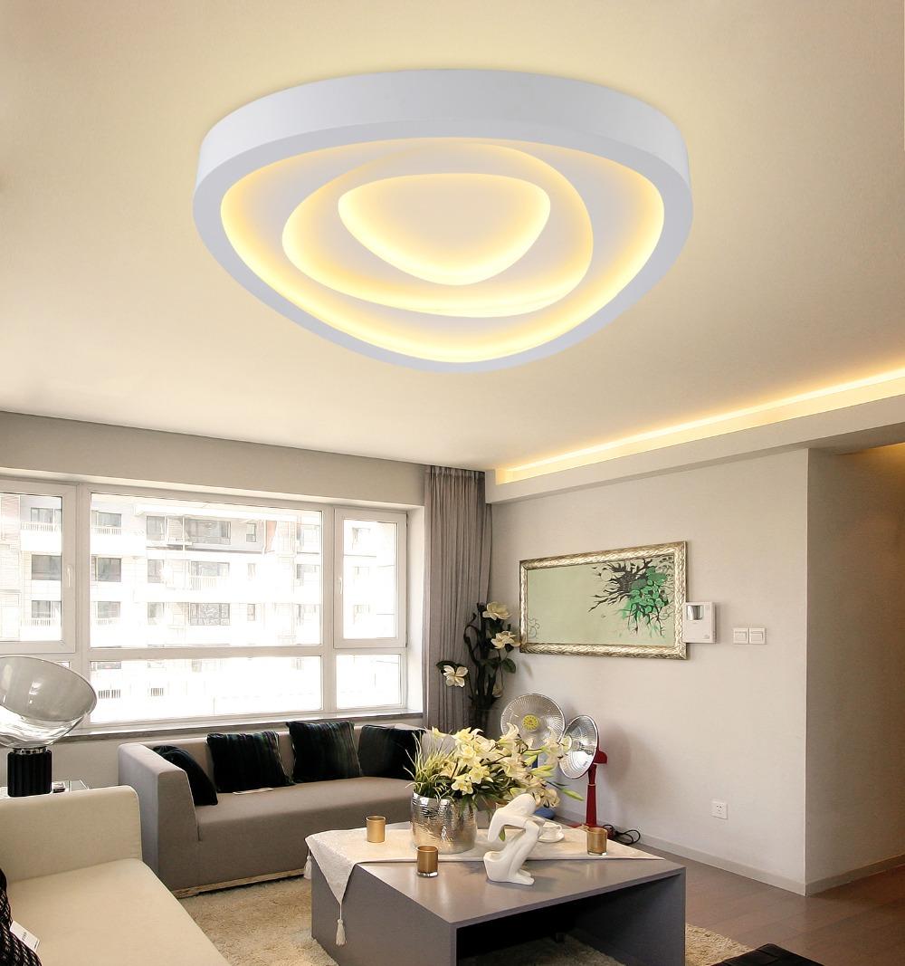 new modern led ceiling lights for living room bedroom. Black Bedroom Furniture Sets. Home Design Ideas