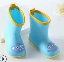 ילדים נעלי חדש אופנה ילדים קלאסיים נעלי PVC גומי ילדים תינוק קריקטורה נעלי ילדים של נעלי מים עמיד למים גשם מגפיים(China)