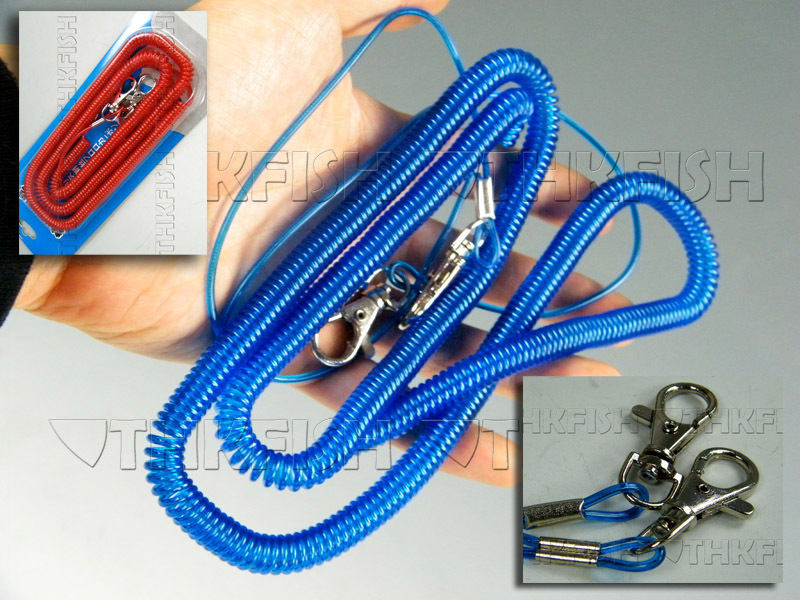 1X 8meter(26ft)Boat Fishing Safety Fishing Lanyard Cable Heavy Duty Fishing Rope(China (Mainland))
