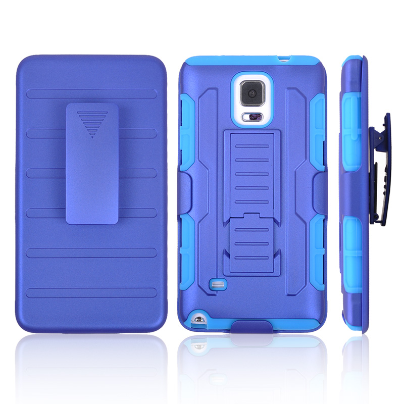 Note 4 Cases Heavy Duty Future Armor Impact Holster Hybrid Hard Case Samsung Galaxy N9100 Stand Belt Clip 3 1 - Best Accessory store