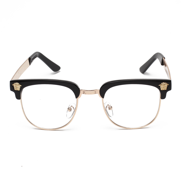 2015 new fashion glasses frame women eyeglasses frame men european style half frame glasses What style glasses are in fashion 2015