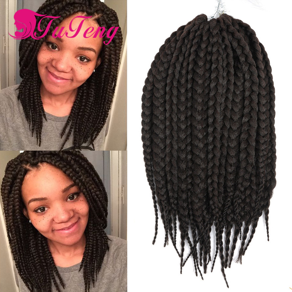 14 Inch Crochet Box Braids : Braiding Hair Synthetic Hair 14 Inch Havana Mambo Twist Braid ...