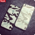 Crystal Transparent Clear Camouflage Cover Coque For iPhone 6 6s Case For iphone 6s plus case