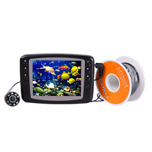 "New Protable 3.5"" LCD 800TVL Monitor Underwater Fish Finder 8 Infrared LED Camera 30M Cable Fishing Finder(China (Mainland))"