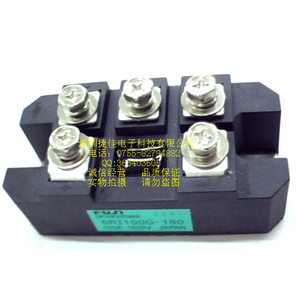 Fuji three phase rectifier bridge module 6ri100g-160