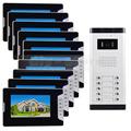 DIYSECUR Quality 7 4 Wired Apartment Video Door Phone Audio Visual Intercom Entry System IR Camera
