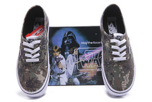 Fashion Casual low -top Style women & men 2015 new arrivals Star Wars Round Toe Anti-skid Shoes D1217